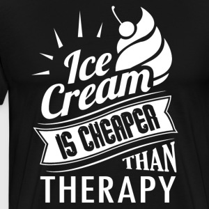 Ice Cream Therapy Shirt - Men's Premium T-Shirt