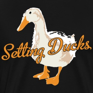 Team Volleyball Setting Ducks Design - Men's Premium T-Shirt
