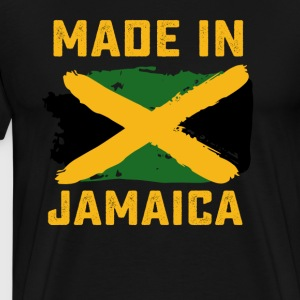 Jamaican flag tshirt - Men's Premium T-Shirt