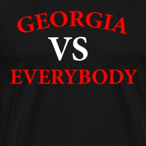 GEORGIA VS EVERYBODY AND EVERYONE! - Men's Premium T-Shirt