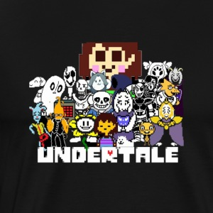 Charater Undertale Team - Men's Premium T-Shirt