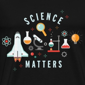 Neil deGrasse Tyson Science Matters - Men's Premium T-Shirt
