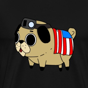 ThePatrioticPug - Men's Premium T-Shirt