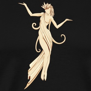 nude_devil_girl - Men's Premium T-Shirt