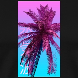 Palm Tree (V A P O R W A V E S T Y L E) - Men's Premium T-Shirt