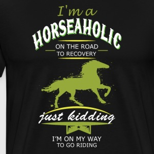 i m a horse on the road - Men's Premium T-Shirt