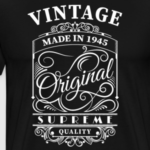 Vintage made in 1945 - Men's Premium T-Shirt