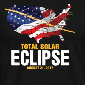 The Total Solar Eclipse August 21 2017 - Men's Premium T-Shirt