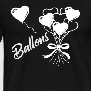 Love Balloons Shirts - Men's Premium T-Shirt