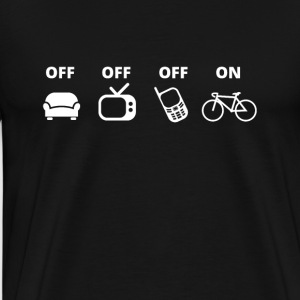 bicycle tshirt Bike Shirt present - Men's Premium T-Shirt