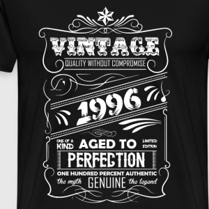Vintage Aged To Perfection 1996 - Men's Premium T-Shirt