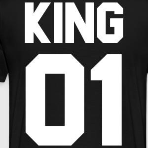 King 01 - Men's Premium T-Shirt