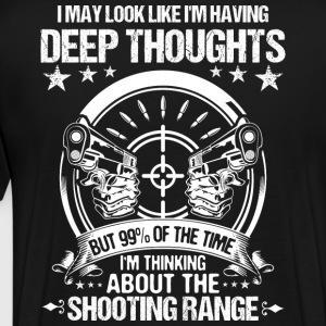 Shooting Sports/Shooter/Shooting Range/Guns/Rifles - Men's Premium T-Shirt