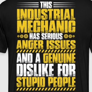 Industrial Mechanic/Industry/Factory/Factories - Men's Premium T-Shirt