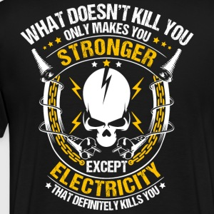 Electricity/Electrician/Sparky/Electrical Worker - Men's Premium T-Shirt