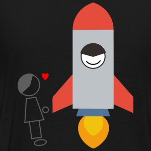 rocket - Men's Premium T-Shirt