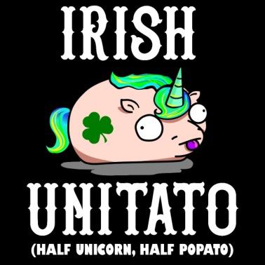Unitato Half Unicorn Half Potato Mens Premium T Shirt Spreadshirt