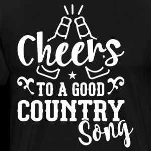 Cheers to a good Country Song wine t shirts