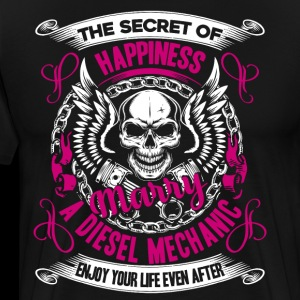 Happiness Marry Diesel Mechanic Shirt