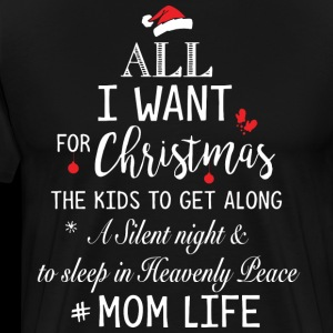 All i want for christmas the kids to get along a s