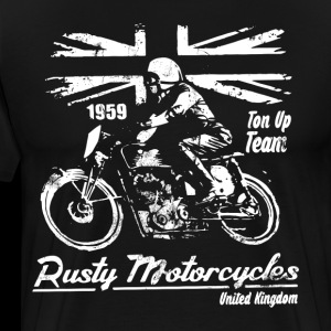 Rusty motorcycles united kingdom