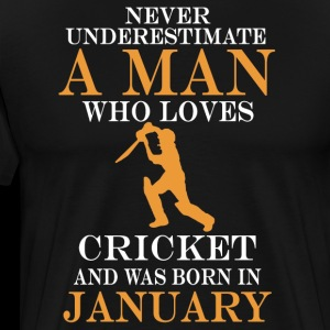 Never underestimate a man who loves cricket and wa