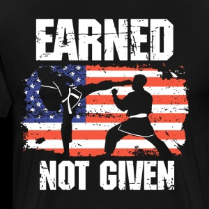 earned not give american t shirts