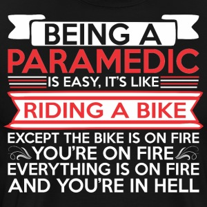 Being Paramedic Easy Riding Bike Except Bike Fire