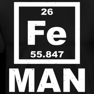 Iron Man Fe Periodic Table Elements Science