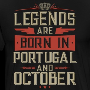 legends born in portugal and october birthday t sh