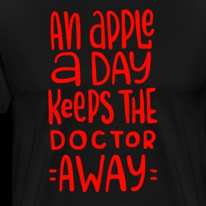 An Apple A Day Keeps The Doctor Away Don't Get Sick Nurse