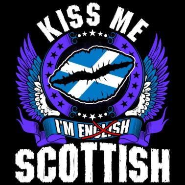 f748298bbd3 Kiss Me Im Scottish - Men s Premium T-Shirt