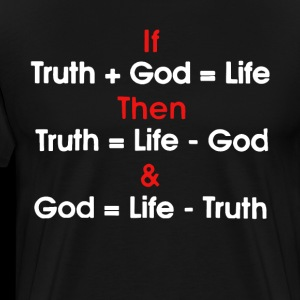 God Equals No Truth Atheist Religion Free Hippie A