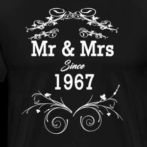 Mr & Mrs Since 1967 - 51st Wedding Anniversary Gift Design