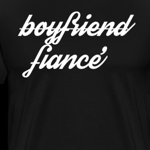 Boyfriend Fiance Engagement Design for Bachelor Party