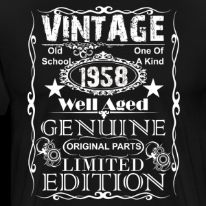 60th Birthday Gift Vintage 1958 Year