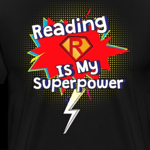 Reading is My Superpower for Book and Literature Fans