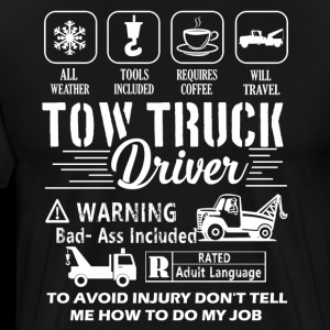 Tow Truck Driver T-Shirts