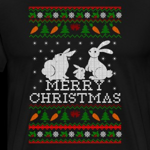 Bunny Rabbit Ugly Christmas Sweater for family