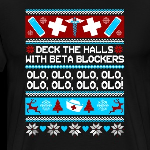 Deck The Halls With Beta Blockers Olol T-Shirt