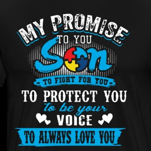 my promise to you son to fight for you to protect