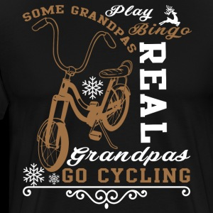Real Grandpas Go Cycling T Shirt