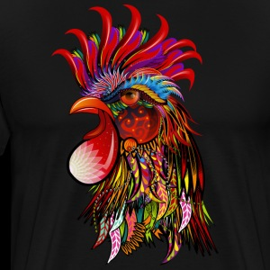Tribal Rooster - Ethnic Chicken