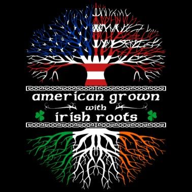 9debb9fba3604 American-Grown---Irish-Roots Men's Premium T-Shirt | Spreadshirt