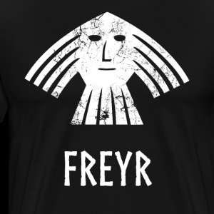 Freyr Viking Norse God Vintage Distressed
