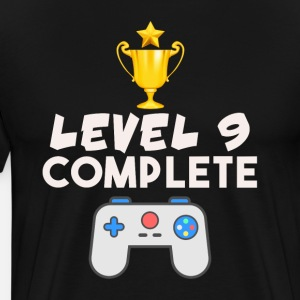 Level 9 Complete 9th Birthday Video Gamer Geek