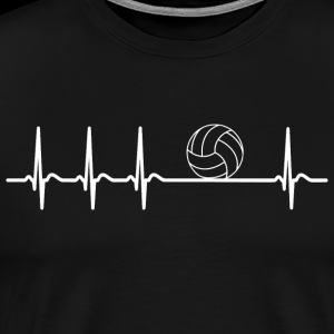 Heartbeat volleyball Player cool fun Team gift