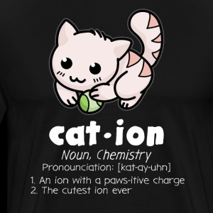 Funny Chemistry Cat Pun Science