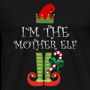 I'm The Mother Elf Matching Family Group Christmas