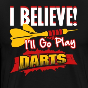 FUNNY DARTS SHIRT